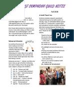 newsletter fall 2018 1