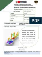 FICHA DE ACTIVIDADES DE APRENDZAJE -MODALIDAD NO  PRESENCIAL O REMOTA-2DA. SEMANA - 1RA. CLASE - C Y D..docx