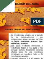 UNIDAD N° 9 MICROBIOLOGÍA DEL AGUA