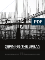 Defining the Urban - interdisciplinary and Professional Perspectives