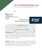 Carta notarial de NIISA Corporation a OjoPúblico
