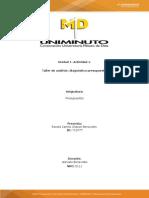 Unidad 1. Actividad 1. Diagnstico presupuestal.doc