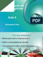 Aula_04 ADMINISTRAÇÃO DE NOVOS NEGÓCIOS
