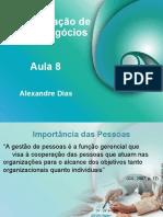 Aula_08 ADMINISTRAÇÃO DE NOVOS NEGÓCIOS