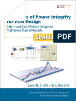 Principles of power integrity for PDN design -- simplified  robust and cost effective design for high speed digital products by Larry D. Smith  Eric Bogatin (z-lib.org).epub