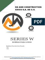 JUMA DE MEXICO   Bombas W series. (1)