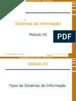 Sistemas de Informação - Módulo 3