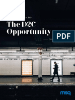 The D2C Opportunity