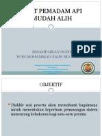 6. Alat Pemadam API Mudah Alih