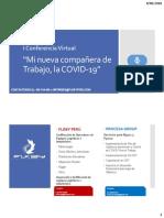 I Conferencia Virtual FLKBY PERU - Mi nueva compañera de Trabajo, la COVID 19