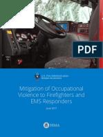 Mitigation of Occupational Violence