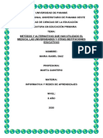 Alternativas Educativas Ante El Covid 19