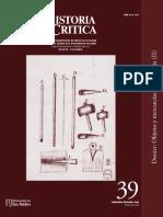Revista Historia Crítica N° 39