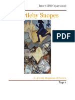 Bartleby Snopes Issue 5