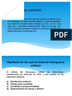 Presentación Hidrograma Unitario