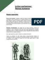 Libro ejército reinos humanos warhammer