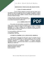 Factores criminogenos y psicologia del delincuente 1 (criminologia tarea 4)