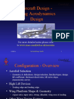 Wing Aerodynamics Design