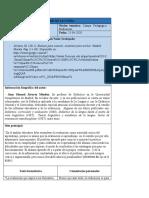 INFORME DE LECTURA - Evaluar para conocer examinar para excluir - Manuel Álvarez