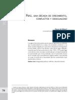 Del Alamo_Peru-una-década-de-crecimiento-conflictos-y-desigualdad_2011