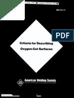 AWSC4.11 - Padrão de Oxi-corte