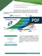 Instructivo Novedades Interactivas y Plantilla de Autodeterminación - SUIR PLUS