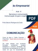 AULA 6 ON LINE  COMUNICAÇÃO  para alunos   DATA 22.5.20