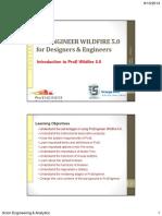 PROENGINEER WILDFIRE 5.0 for Designers & Engineers.pdf