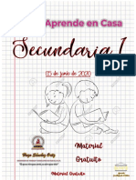 SECUNDARIA EN CASA TAREAS VARIAS