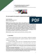 Por uma agenda de pesquisa comparada de papéis profissionais - Luis, Berti - 2017