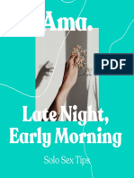 Ama-late night early morning- about masturbation