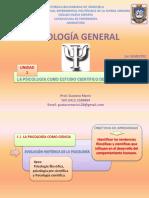 PSICOLOGÍA GENERAL UNIDAD I