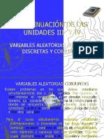 PROB Y EST CONTINUACION UNIDADES III y IV