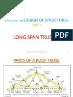 Long span Trusses