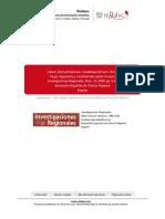 Cabrer, Serrano & Simarro (2009) - Flujos migratorios y movilidad del capital humano