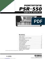 Yamaha psr550 sevicemanual.pdf