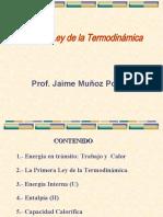 1 - Primera Ley de La Termodinamica 2020