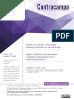 Ludmila Abilio_Plataformas digitais e uberização Globalização de um Sul administrado