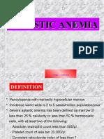 02.Aplastic Anemia