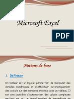 Cours d Excel 2007