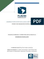 Violencia patriarcal y estructura social paraguaya