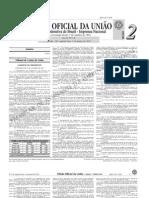 diário oficial da união (DOU) - 03.01.2011 - seção 2 - 1b