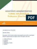 0179 Principais Funções Organizacionais - 09.06.2020