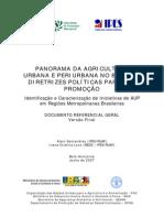 Panorama Da Agricultura Urbana e Periurbana No Brasil