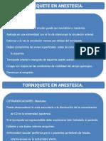 TORNIQUETE EN ANESTESIA. SITUA 2016
