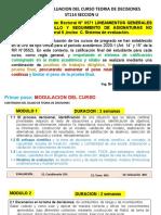 SISTEMA DE EVALUACION ST114U