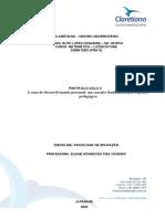 Portfólio Ciclo 3 - Psicologia da Educação