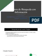 Algoritmos de Búsqueda Informadav2
