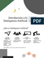 Introducción a la Inteligencia Artificial (1)