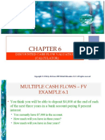 chapter 6, discounted cashflows valuation